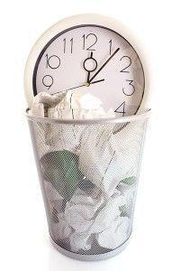Mamá, no tires tu escaso tiempo a la basura