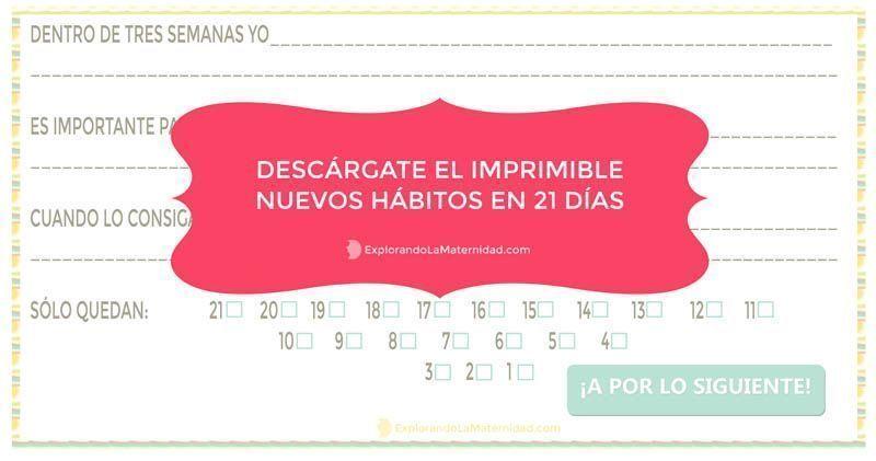 21 días para mejorar tu vida - Imprimible Gratuito - Neus Virgili