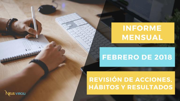 Revisión Mensual - Febrero 2018